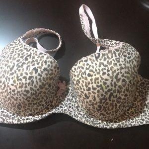 Victoria's Secret leopard bra